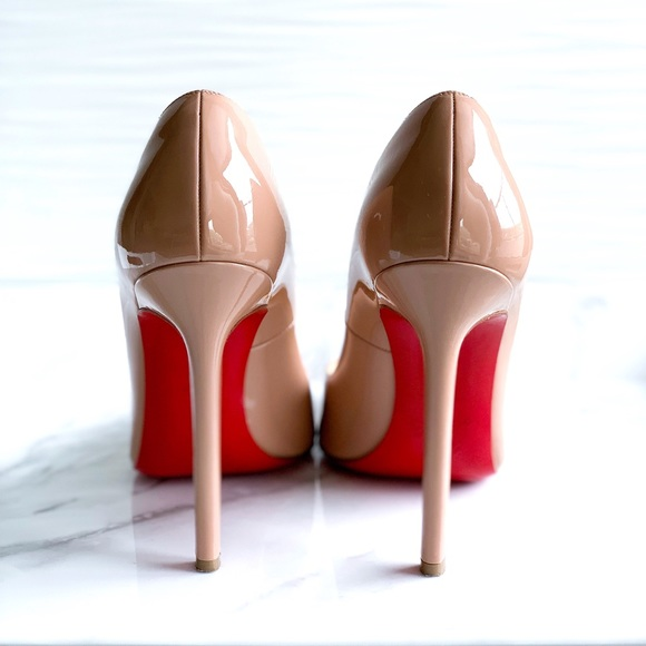 new products 83d0f ac589 Christian Louboutin Pigalle 120 Pumps Nude Size 8